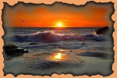 Le Coucher du soleil D'ambre l'adolescent mignon avec les